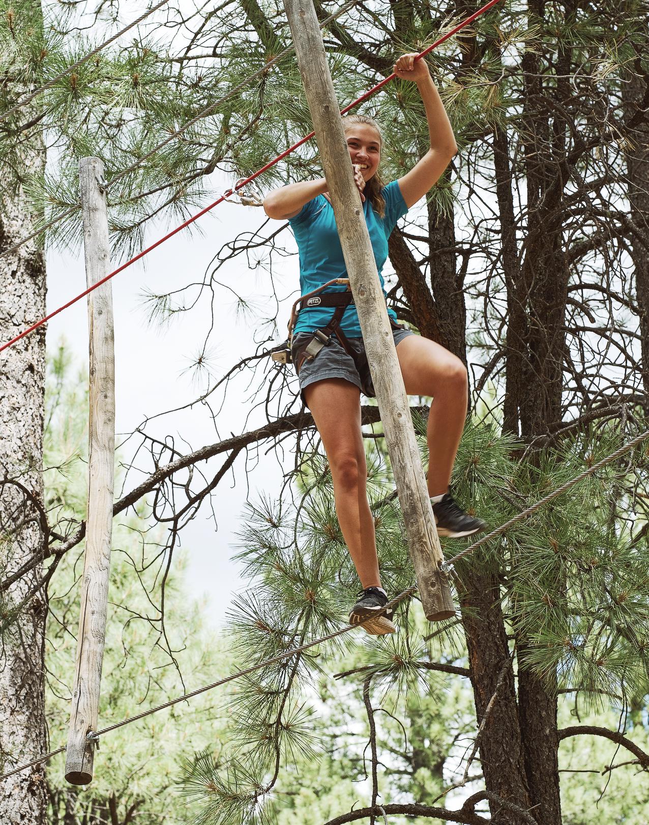 Adult Adventure Course, Zip Line, Flagstaff Activities